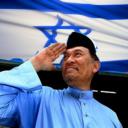 anwar salute yahudi 618x511 128x128 - Demo sunyi bantah sokongan Anwar terhadap Israel