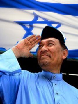 anwar salute yahudi 618x511 268x356 - Demo sunyi bantah sokongan Anwar terhadap Israel