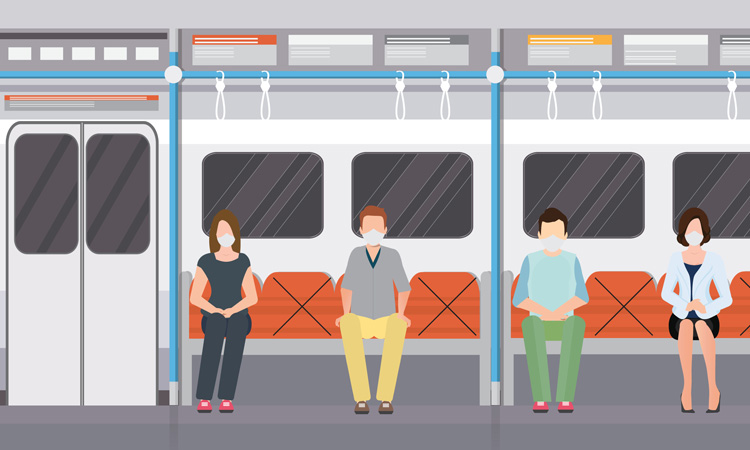 social distancing train - Amazing Tools You Need While On-The-Go