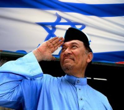 Demo sunyi bantah sokongan Anwar terhadap Israel