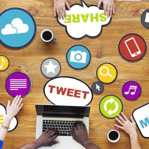 Multiple people on table social media 300x300 - The Rapid Development Of Technology